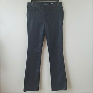 Level 99 Sasha Slim Coated Boot Cut Jeans